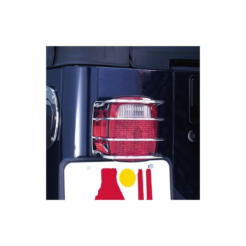 Protezione Fari Posteriori Jeep 76-06 Acciaio