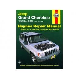 Manuale  Riparazione  Englese - Grand Cherokeezj / Wj / Wg 93 - 04