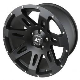 Cerchio XHD Black 18x9, 07-19 Wrangler JK-JL