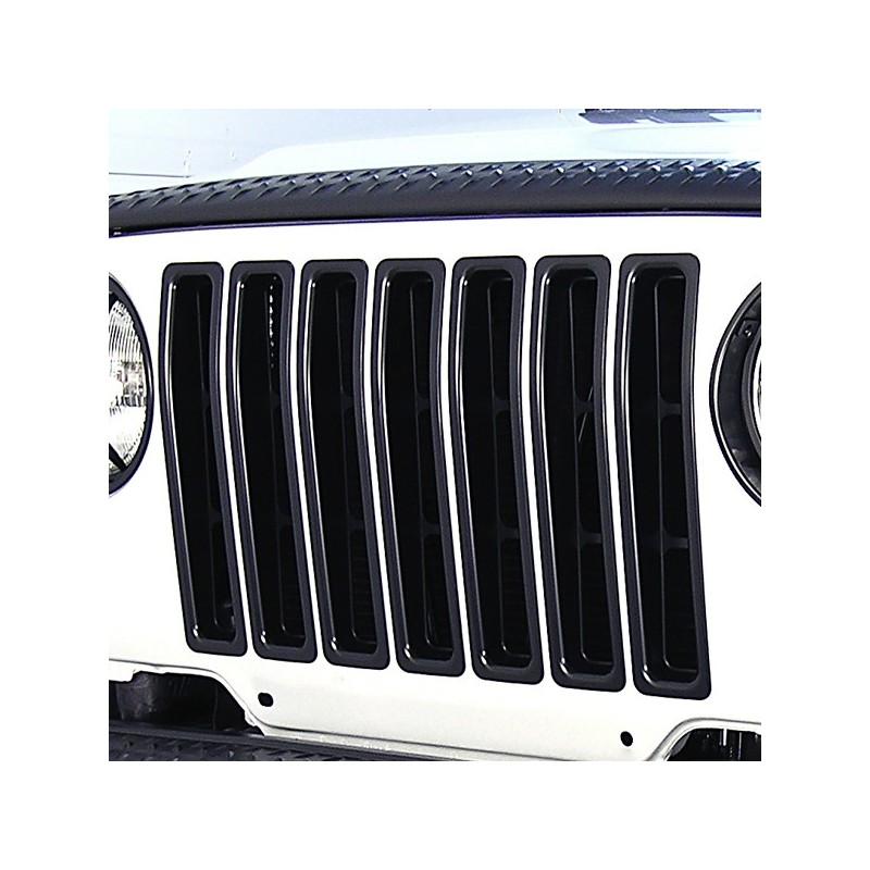 Inserti griglia neri 97-06 Jeep Wrangler