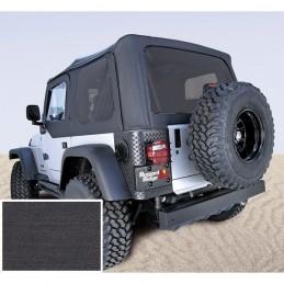 Ricambio telo soft top con porte e vetri scuri jeep Wrangler TJ 97-06