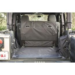 C3 Cargo Cover, 2-Door w/Subwoofer, 07-18 Wrangler