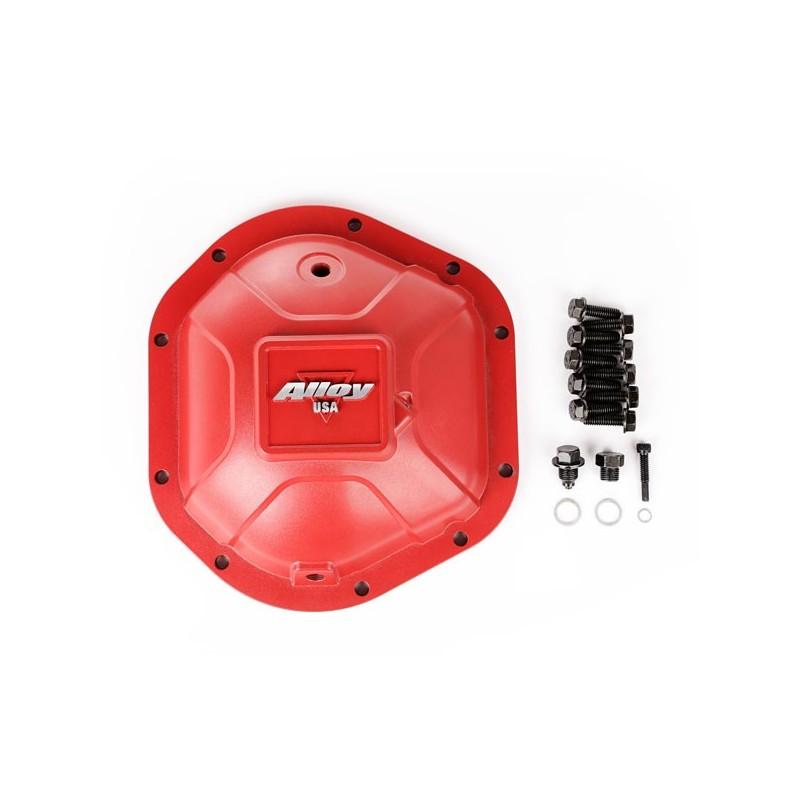 Aluminum Differential Cover, Dana 44, Red
