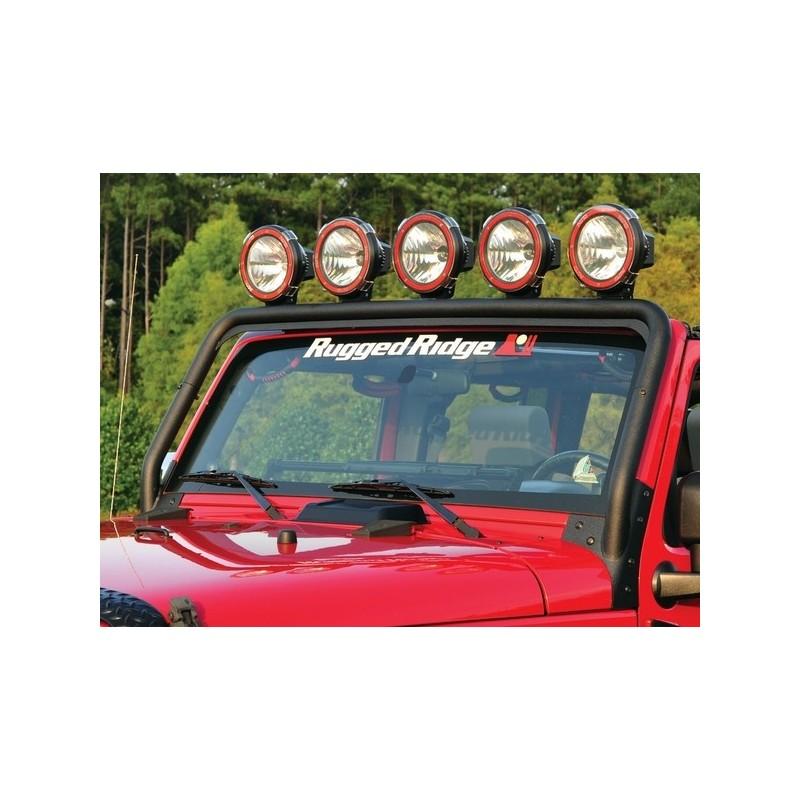 Barra Portafari nera Jeep Wrangler Jk