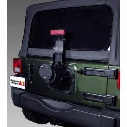 Rilocatore Ruota Scorta Jeep CJ e Wrangler 76-18